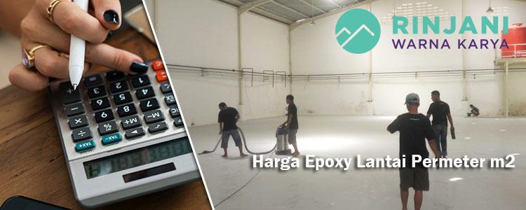 Harga Epoxy Lantai Permeter m2