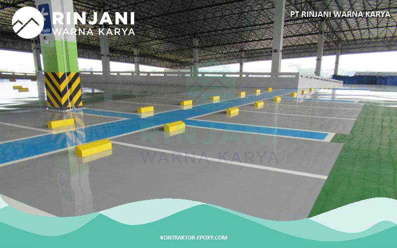 Jasa Epoxy Lantai Area Parkir